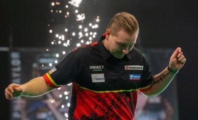 Dimitri Van den Bergh eindigt op tweede plaats in eerste fase Premier League darts, begin mei wacht volgende ronde