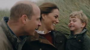 Kate en William delen lieve familievideo
