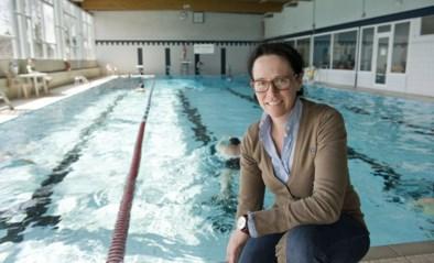 Technische problemen zwembad van de baan