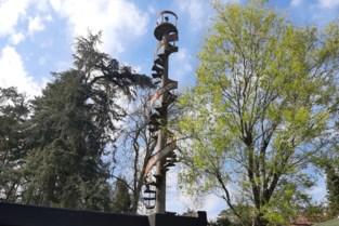 Mysterie ontsluierd: wenteltrap in tuin is werk van architect die zijn tijd ver vooruit was
