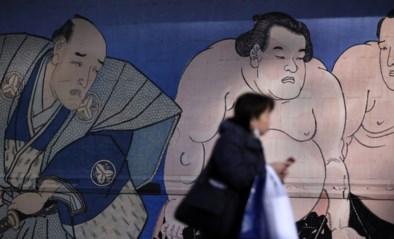 Ophef in Japan na dood van sumoworstelaar die ongelukkig op zijn hoofd terechtkwam