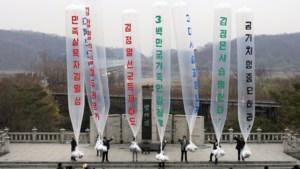 Zuid-Koreaanse activisten droppen 500.000 flyers in Noord-Korea