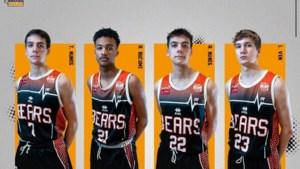 Leuven Bears legt jonge talenten vast