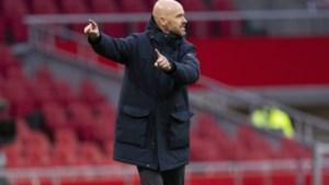 Ajax legt coach Ten Hag langer vast na geruchten over interesse van Tottenham