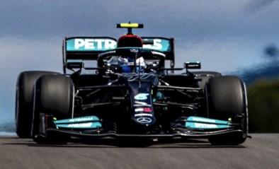 Valtteri Bottas houdt Lewis Hamilton in Portugal van 100ste polepositie