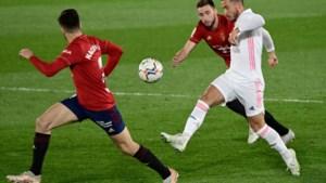 Vinnige Eden Hazard viert eerste basisplaats in drie maanden met broodnodige overwinning met Real Madrid