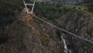 Langste wandelhangbrug ter wereld geopend in Portugal