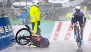 Dramatiek in Ronde van Romandië: Michael Woods trotseert als beste regen en mist, Geraint Thomas valt in eindsprint