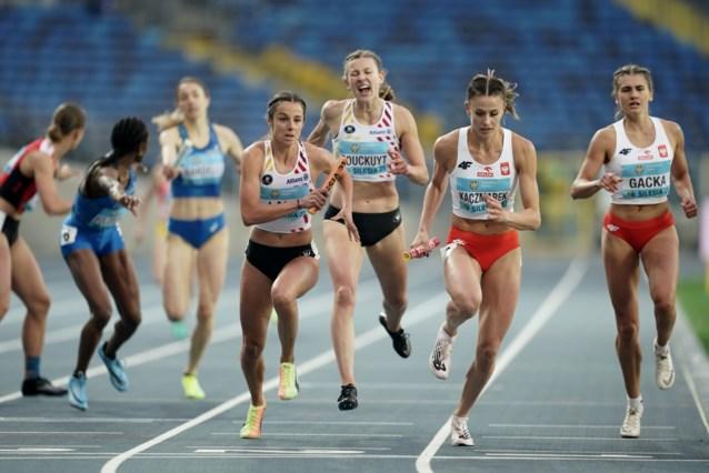 Ook gemengde 4x400m en Belgian Cheetahs naar finale World Relays en rechtstreeks ticket voor WK 2022