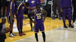 Ook LeBron James is menselijk: superster mist, Lakers verliezen en hebben een probleem