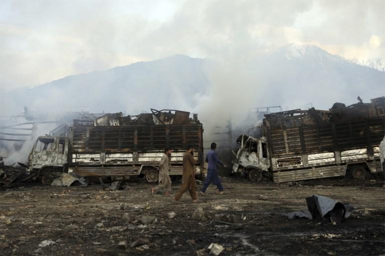 Zeven doden bij verwoestende brand na ontploffing aan tankstation in Afghaanse hoofdstad Kaboel