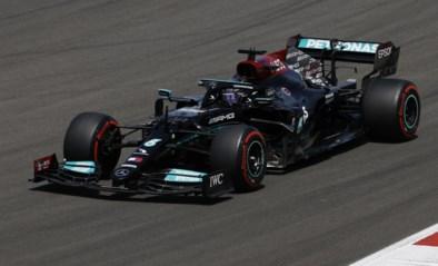 Lewis Hamilton verschalkt Max Verstappen en teamgenoot met schitterende inhaalacties en wint GP van Portugal
