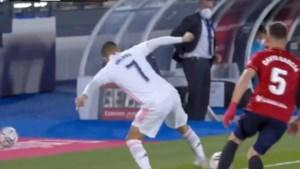 """Het sublieme hakje waarmee Eden Hazard eindelijk nog eens indruk maakte bij Real Madrid: """"Een goeie test"""""""