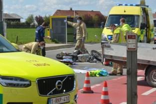 Motorrijder zwaargewond na ongeval