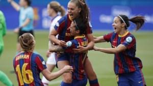 Barcelona en Chelsea spelen finale Champions League voor vrouwen