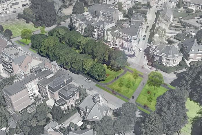 Zo zal het vernieuwde park in het Miljoenenkwartier eruitzien: meer groen en minder asfalt