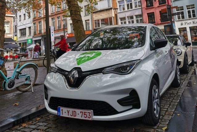 Elektrische deelauto's landen in Mariakerke en Wondelgem