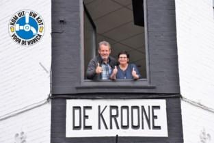 Dubbel feest in De Kroone, en niet alleen omdat terras weer open mag