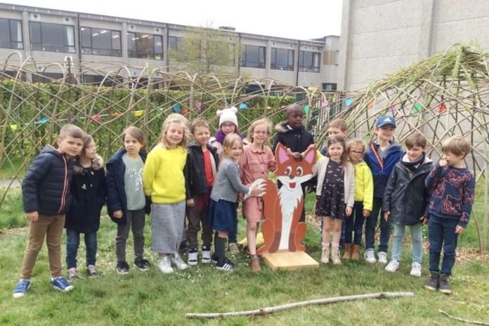 Basisschool KBO Sint-Jozef opent wilgenhut en groene speelzone