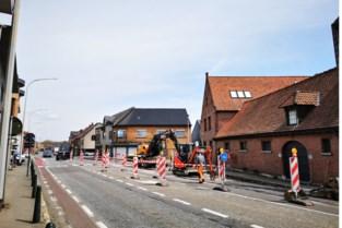 Maand lang werken op Brusselsesteenweg voor veiliger fietsverkeer
