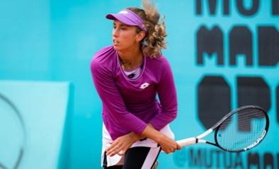 Alison Van Uytvanck opnieuw niet voorbij Schmiedlova, Elise Mertens laat vier matchballen liggen in dubbelspel