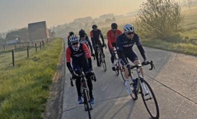 Wielerliefhebbers fietsen 312 kilometer rond Limburg voor het goede doel