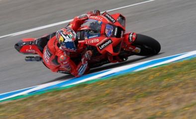 """Tranen vloeien in MotoGP bij Jack Miller na lange revalidatie: """"Laatste zes, zeven ronden de langste in mijn carrière"""""""