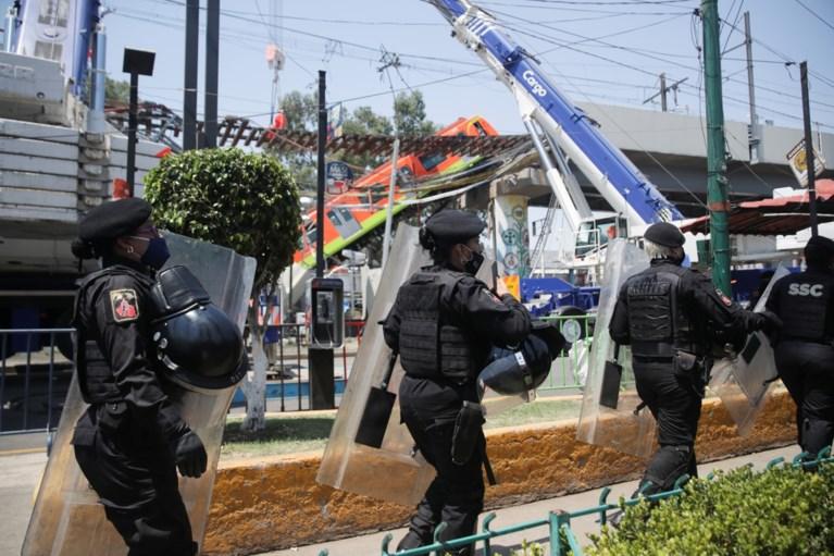 Mexicaanse brug zakt in op moment dat er metrostel passeert: zeker 23 doden en 70 gewonden