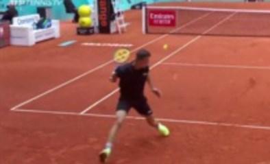 Wat een goddelijke uithaal: onbekende Hongaar pakt uit met kandidaat voor tennispunt van 2021