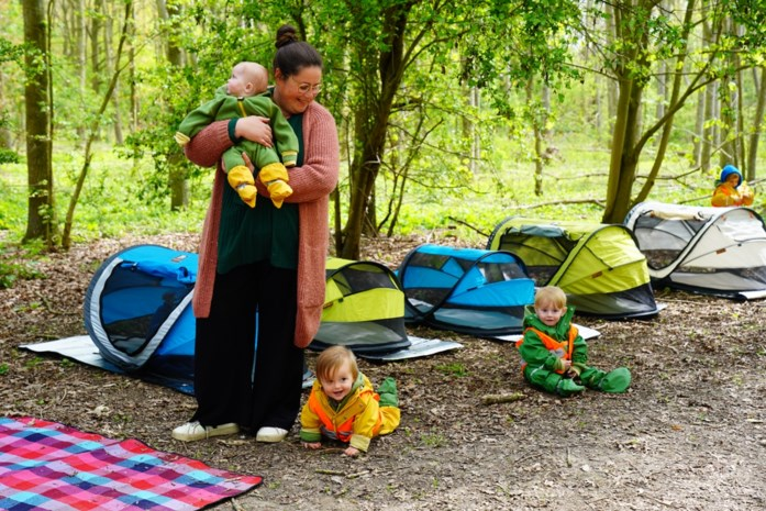 """Onthaalmoeder Iris (39) zet tenten op in de Gentbrugse Meersen: """"Inspiratie gezocht tot in Canada"""""""