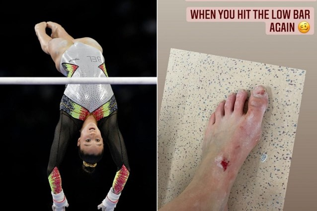"""Nina Derwael doet zich pijn op training: """"Het probleem van een grote gymnaste"""""""