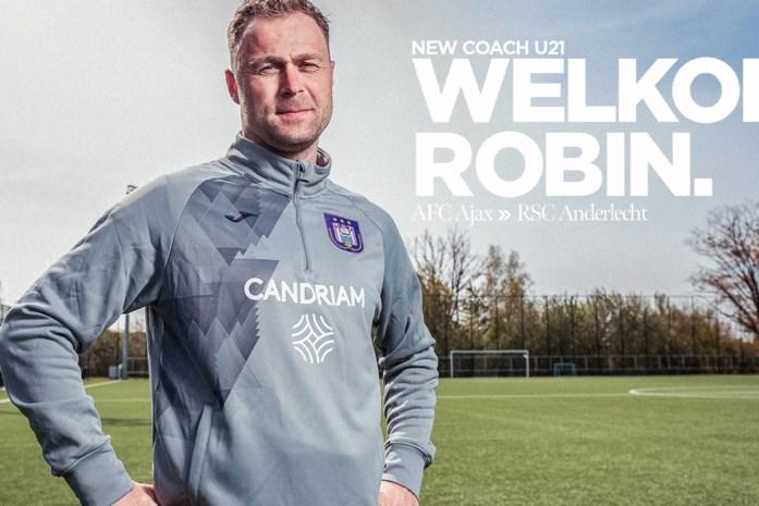 De prestigieuze nieuwe beloftencoach van Anderlecht die overkomt van Ajax: dit is Robin Veldman
