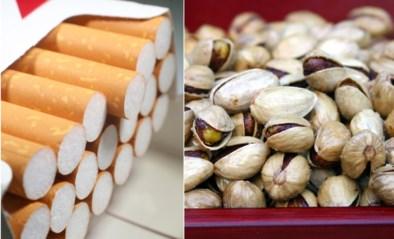 15 maanden cel voor diefstal 253 pakken sigaretten en pistachenoten