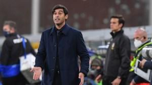 """AS Roma gaat op zoek naar vervanger voor coach Paulo Fonseca: """"Ik heb alles gegeven"""""""