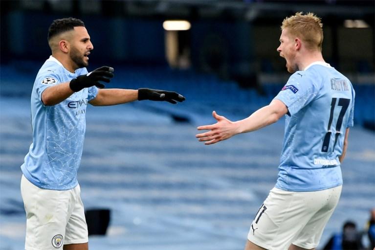 Manchester City en Kevin De Bruyne mogen naar finale Champions League na twee doelpunten van Riyad Mahrez tegen PSG