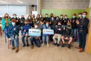 Sponsortocht VIA brengt 3.000 euro op voor Rode Kruis en Bezorgd Om Mensen