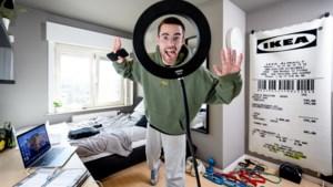 """Jonatan Medart maakte ludieke video en is nu Tiktok-ster: """"Ik vond het eerst ook vreemd: zo véél geld voor zo weinig werk"""""""