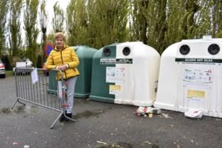 Glasbollen komen ondergronds om sluikstorten tegen te gaan op pleintje Monseigneur Van Hovestraat