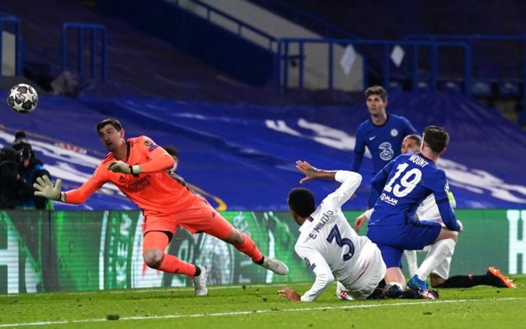 Geen Belgische droomfinale: Chelsea kegelt onzichtbare Eden Hazard en sterke Thibaut Courtois uit Champions League
