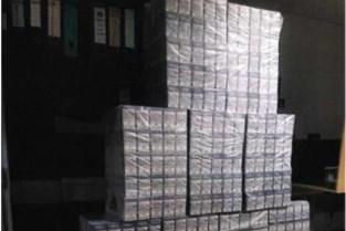Douane neemt 3.500 pakjes sigaretten in beslag