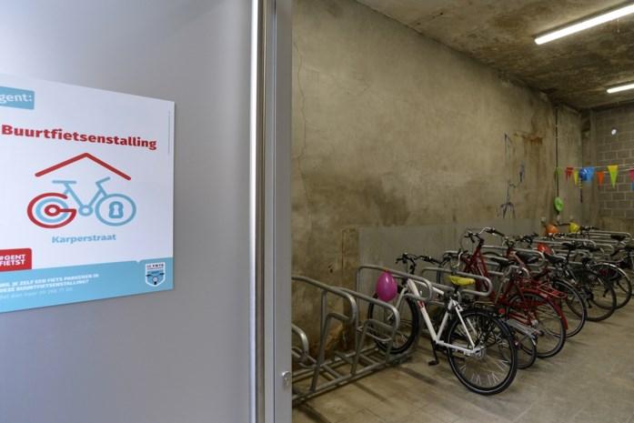Wachtlijst voor fietsgarages in Gent: nog een pak extra buurtstallingen gepland