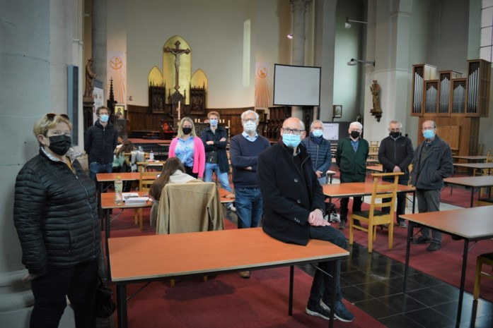 Sint-Theresiakerk doet dienst als blokruimte