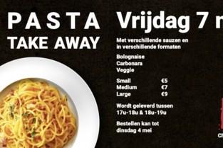 Chiro Malderen geeft pasta take-away
