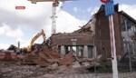 Vertrouwd schooltorentje tegen de vlakte in Melsele