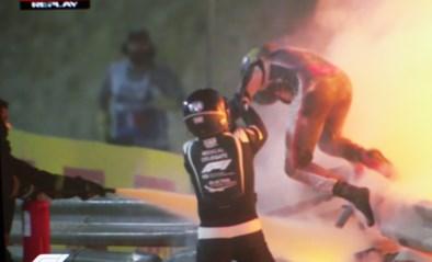 Romain Grosjean keert na beruchte crash terug op F1-circuit voor demonstratie en testsessie in wagen Lewis Hamilton