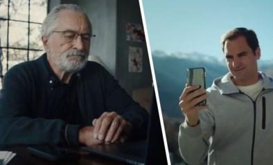 """Roger Federer en Robert De Niro maken reclame voor Zwitserland: """"Je vraagt het beter aan Tom Hanks"""""""