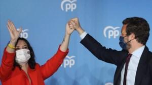 Triomf van conservatieven bij verkiezingen Madrid, Podemos-oprichter Pablo Iglesias stapt uit politiek
