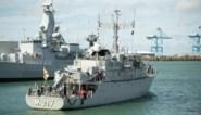 """Belgische mijnenjager doet """"recordvangst"""" aan zeemijnen bij Estland"""