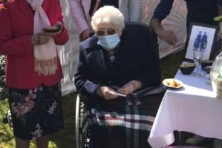 De Bron viert 100-jarige Thérèse