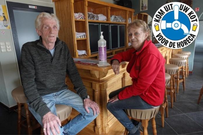 Toog van De Welkom werd gelukkig nooit afgebroken: Julien en Marie-Jeanne heten klanten weer hartelijk welkom in living